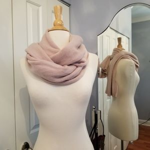 Light Indian Pink 100% Cashmere Scarf